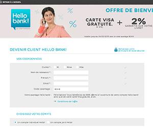 Screenshot de Hello Bank!