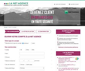 Screenshot de La NET Agence